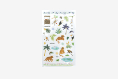 DPS41 Pegatinas pvc daily sticker jungle formas y disenos surtidos Dailylike