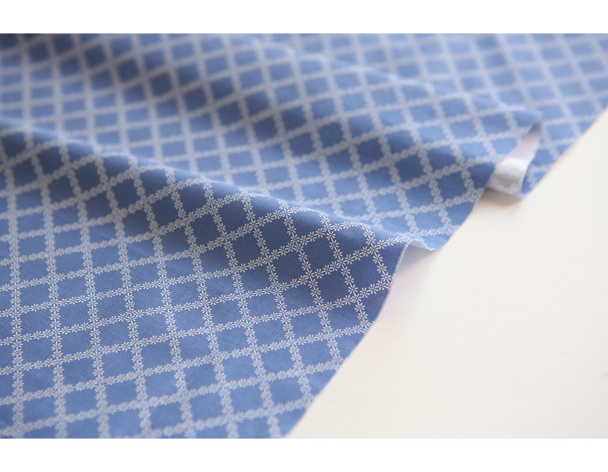 DPY04 DPY04-3 Tela algodon apron blue espesor 30C Dailylike