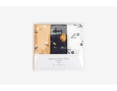DQF107 Set 3 telas precortadas quarter pack de algodon by chance Dailylike