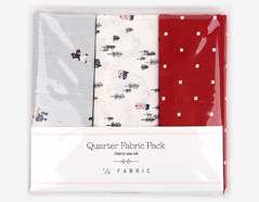 DQF87 Set 3 telas precortadas quarter pack de algodon festival Dailylike