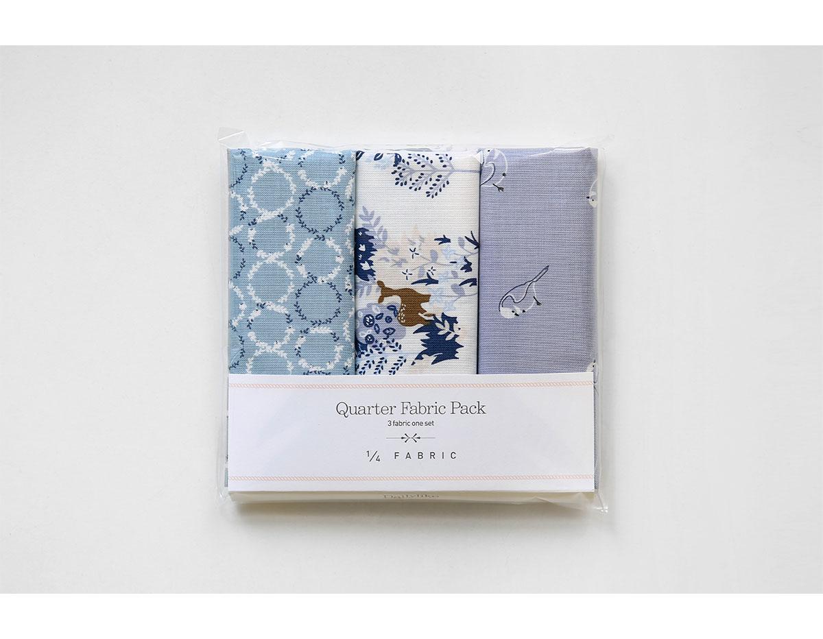 DQF95 Set 3 telas precortadas quarter pack de algodon beautiful Dailylike