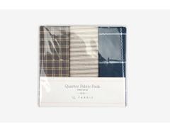 DQF99 Set 3 telas precortadas quarter pack de algodon gentle mood Dailylike