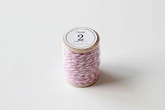 DT02 Cordon algodon twine rosa Dailylike