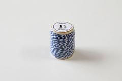 DT11 Cordon algodon twine azul Dailylike