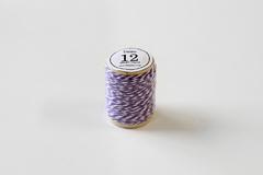 DT12 Cordon algodon twine violeta Dailylike