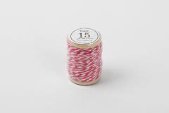 DT15 Cordon algodon twine rosa intenso Dailylike