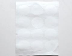 DTS03 Etiquetas papel adhesivas redondas medidas surtidas Dailylike