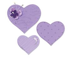 E656334 Troquel BIGZ especial quilting Hearts Sizzix