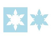 E656447 Troquel magnetico MOVERS SHAPERS copo de nieve Sizzix
