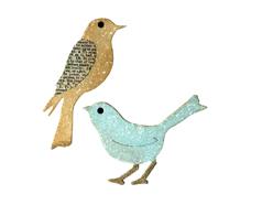 E656551 Troquel BIGZ Birds by Rachael Bright Sizzix