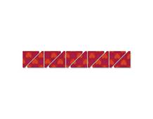 E658323 Troquel BIGZ XL 25 especial quilting Triangulo medio-cuadrado Sizzix
