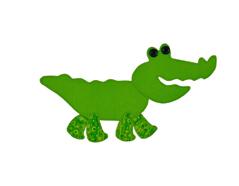 E658634 Troquel BIGZ especial quilting Crocodile Sizzix