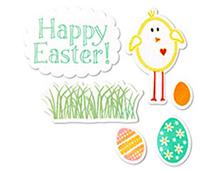 E658698 FRAMELITS-EASTER - Easter BY STEPHANIE BARNARD Sizzix