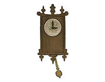 E658719 BIGZ-BASIC SHAPES-Wall Clock by TIM HOLTZ ALTERATIONS Sizzix