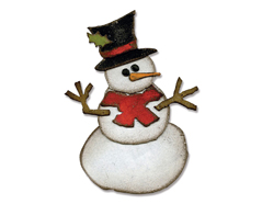 E658770 Troquel BIGZ Assembly snowman by Tim Holtz Sizzix