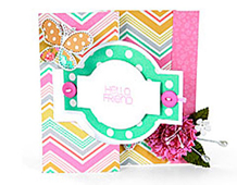 E658841 MOVERS SHAPERS L-BASIC SHAPES-Card Ornate Flip-its 2 by STEPHANIE BARNARD Sizzix