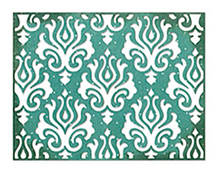 E659003 THINLITS-BASIC SHAPES-Damask BY JEN LONG PHILIPSEN Sizzix