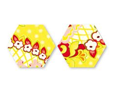 E659984 Troquel BIGZ especial quilting Hexagon 3 8cm Aprox cada lado Sizzix