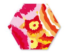 E659986 Troquel BIGZ especial quilting Hexagon 5cm Aprox cada lado Sizzix