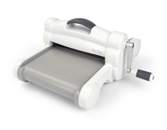 E660020 *Maquina para troquelar BIG SHOT PLUS White Grey boca 22 5cm Sizzix