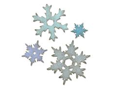 E660052 Troquel BIGZ L Stacked snowflakes by Tim Holtz Sizzix