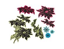 E660063 Set 8 troqueles FRAMELITS con sello Merry Christmas by Tim Holtz Sizzix