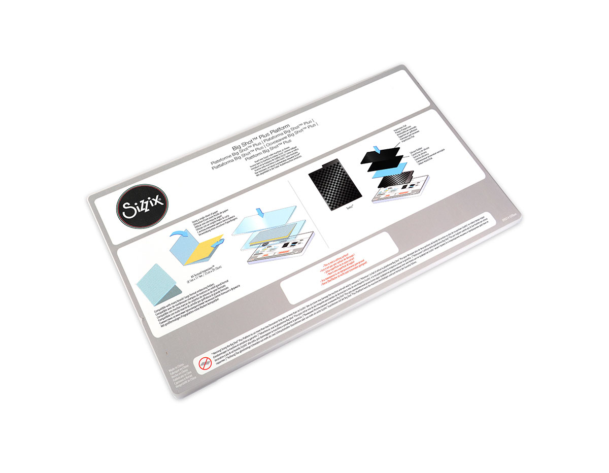 E660583 Plataforma adaptadora para BIG SHOT PLUS Sizzix