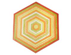E660839 Set 15 troqueles FRAMELITS PLUS Hexagons Sizzix