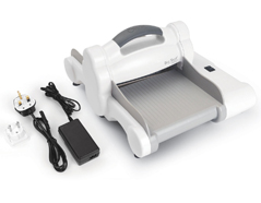 E660850 1-Maquina para troquelar electrica BIG SHOT EXPRESS White and Grey boca 15cm Sizzix