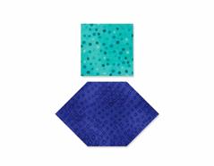 E660917 Troquel BIGZ especial quilting Honeycombs and squares caras de 2 5cm y 4cm Sizzix
