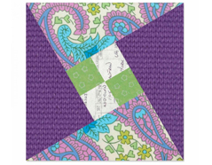E660920 Troquel BIGZ L especial quilting Square dance by Victoria Findlay Wolfe 18cm Sizzix