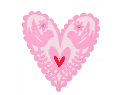 E661164 Troquel THINLITS From my heart by Emily Atherton Sizzix