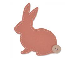 E661170 Troquel BIGZ Lovable bunny by Samantha Barnett Sizzix