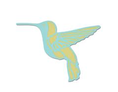 E661242 Set 2 troqueles THINLITS Free bird by Prima Marketing Sizzix