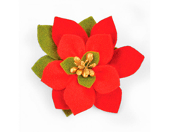 E661294 Troquel BIGZ Build a bloom poinsettia by Pete Hughes Sizzix