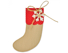 E661297 Troquel BIGZ Christmas Stocking by Sophie Guilar Sizzix
