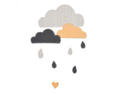 E661380 Troquel BIGZ Cloudy days by Sophie Guilar Sizzix