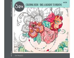 E661535 Set 24 papeles para colorear adultos Take a moment to breathe by Katelyn Lizardi Sizzix