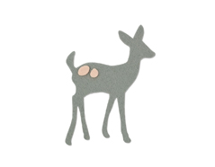 E661694 Troquel BIGZ Little deer by Samantha Barnett Sizzix