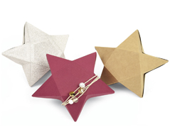 E661728 Troquel THINLITS PLUS Star box by Debi Potter Sizzix