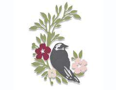 E661749 Troquel THINLITS Songbird by Debi Potter Sizzix