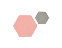 E661781 Set 2 troqueles FRAMELITS Small hexagons Sizzix