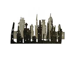 E661810 Set 2 troqueles THINLITS Cityscape skyline by Tim Holtz Sizzix