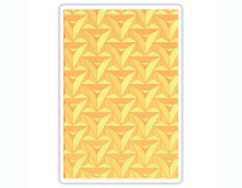 E661951 Placa de textura 3D TEXTURED IMPRESSIONS Prism Geometrics by Courtney Chilson Sizzix