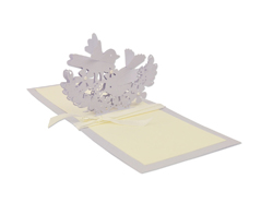 E662101 Troquel THINLITS Interlacing birds by Hannah Sargent Sizzix