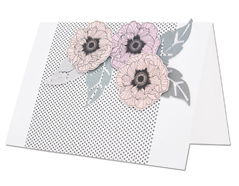 E662165 Set 2 troqueles FRAMELITS con sello Folk flower Sizzix