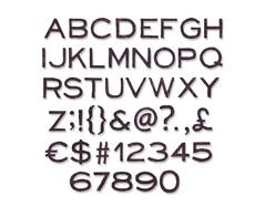 E662226 Set 121 troqueles THINLITS Alphanumeric Thin by Tim Holtz Sizzix
