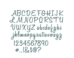 E662228 Set 69 troqueles THINLITS Script Upper Lower by Tim Holtz Sizzix