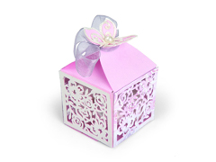 E662363 Set 3 troqueles THINLITS Butterfly Favor Box by David Tutera Sizzix