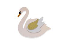 E662502 Troquel BIGZ Swan by Pete Hughes Sizzix